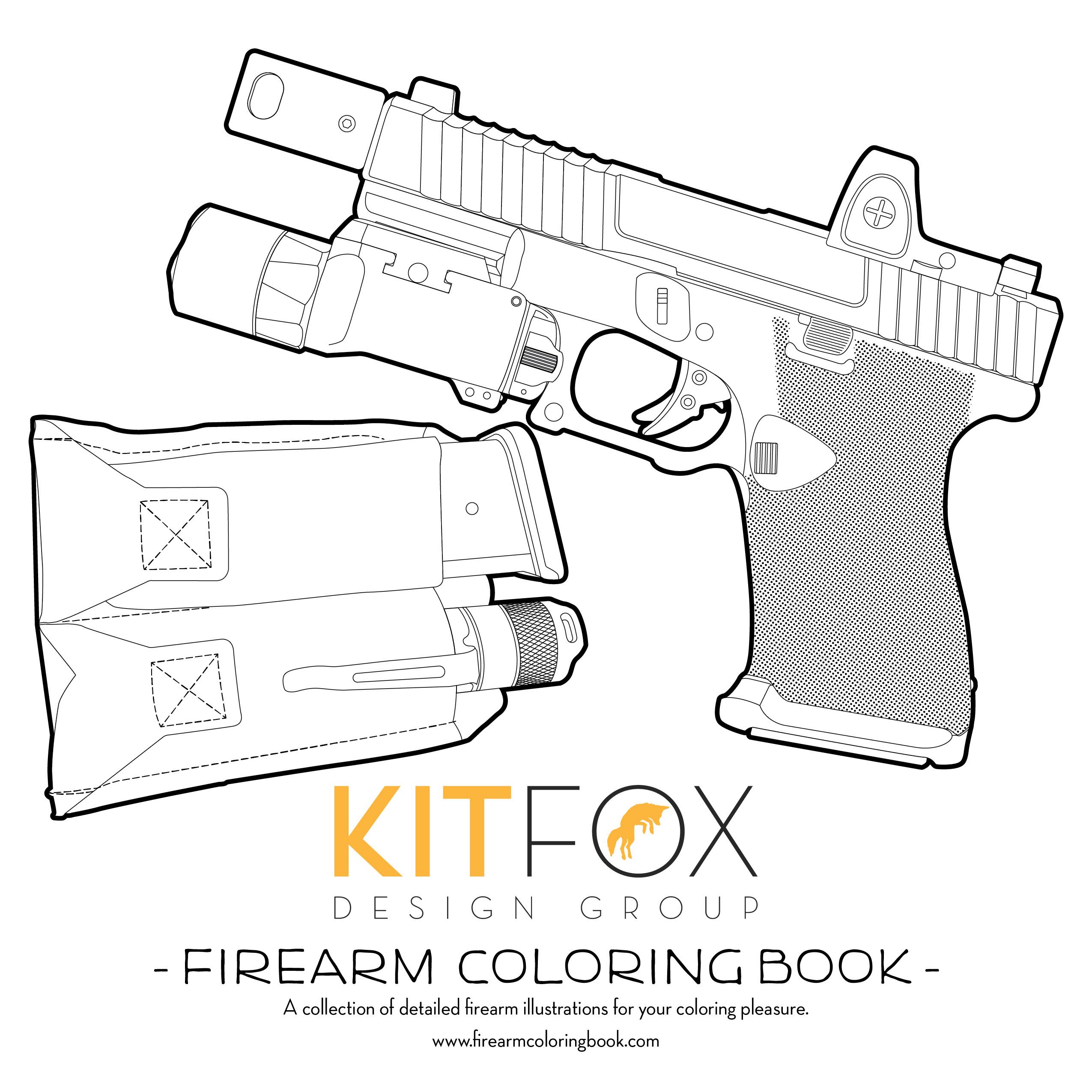 Kitfox Design Firearms Color Book